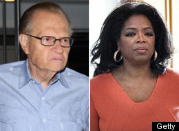 Larry King Oprah