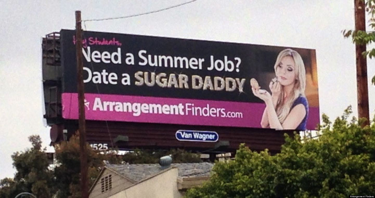 sugar daddy billboard near ucla offends students neighbors sugar daddy billboard near ucla offends students neighbors video photo the huffington post