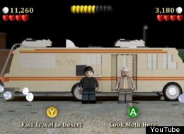 Breaking Bad Lego Video Game Parody