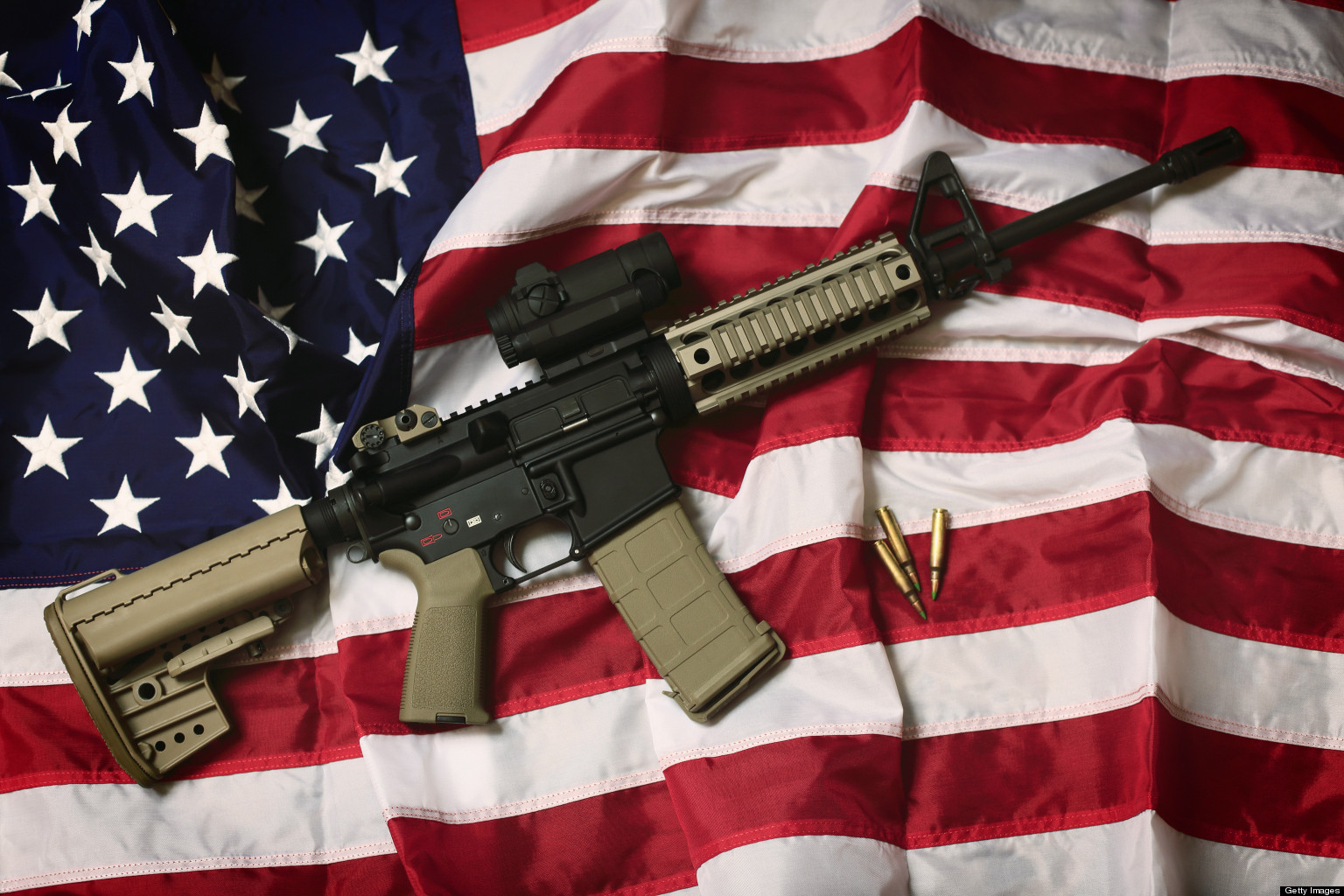 guns in america Americans have a deep history and a complex relationship with guns a point of pride for some and a source of fear for others, guns continue to ignite sharp debates in our society about four-in-ten americans say they either own a gun themselves or live in a household with guns, and 48% say they.