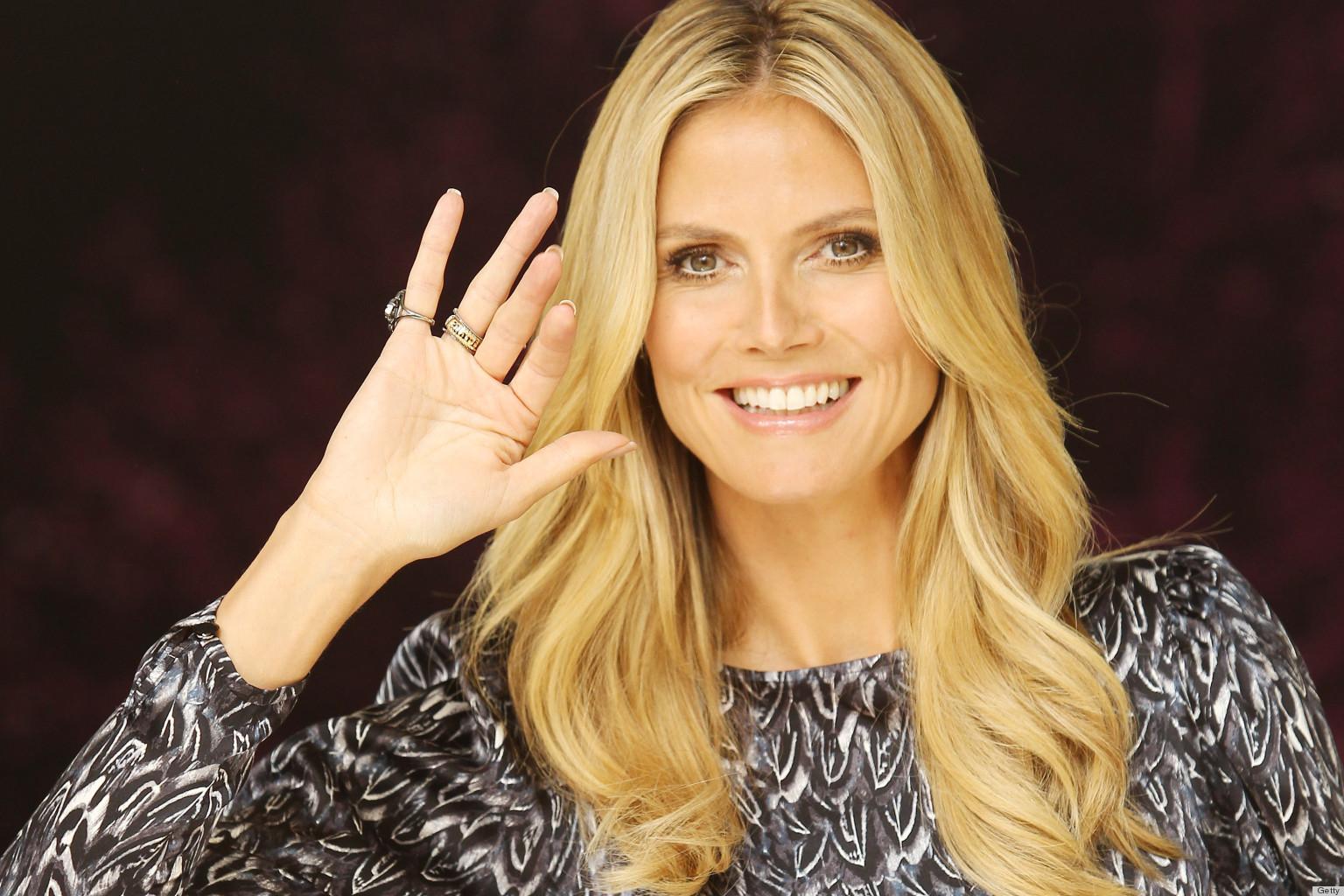 Heidi Klum: Heidi Klum Ring Isn't Engagement Bling, So Everyone Calm