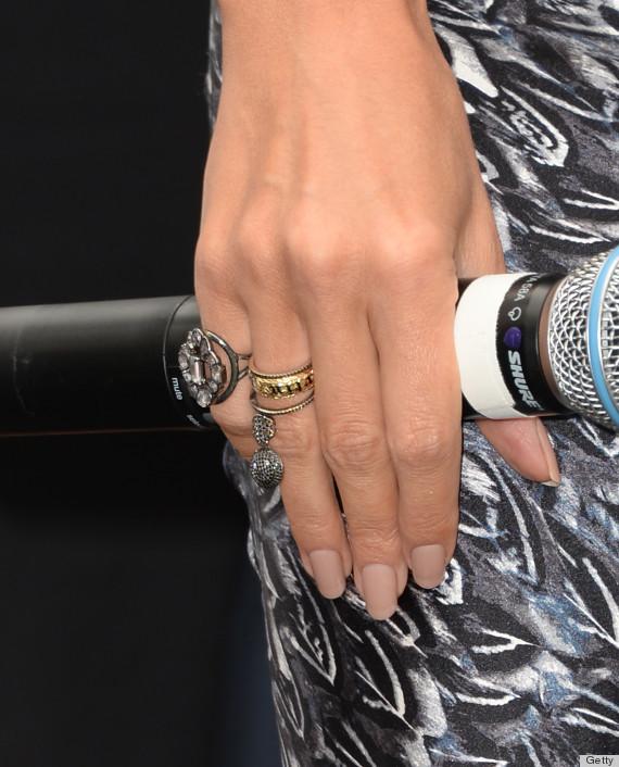 heidi klum ring isnt engagement bling so everyone calm