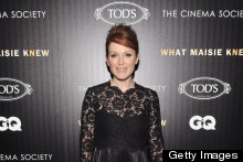 Julianne Moore Is STUNNING In Lace LBD For What Maisie Knew Screening