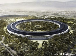 Les premiers plans du futur campus d'Apple