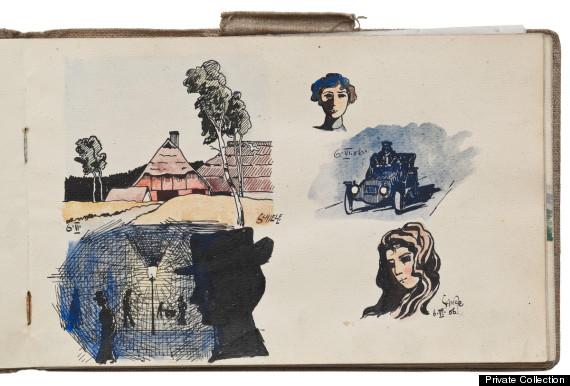 egon shiele sketchbook