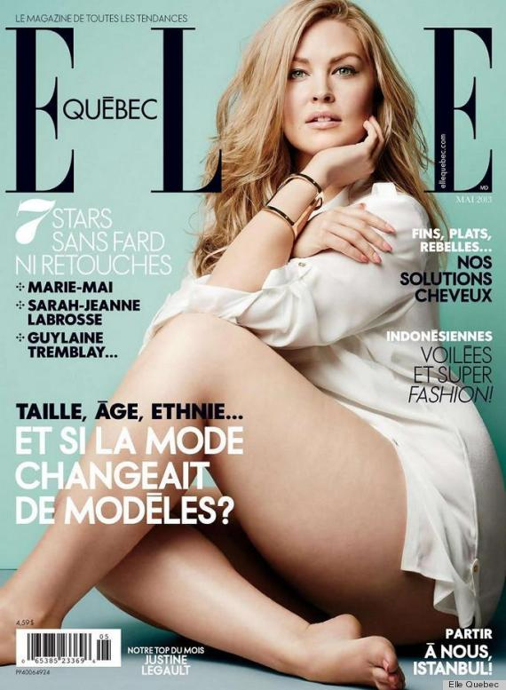 elle quebec plus size cover