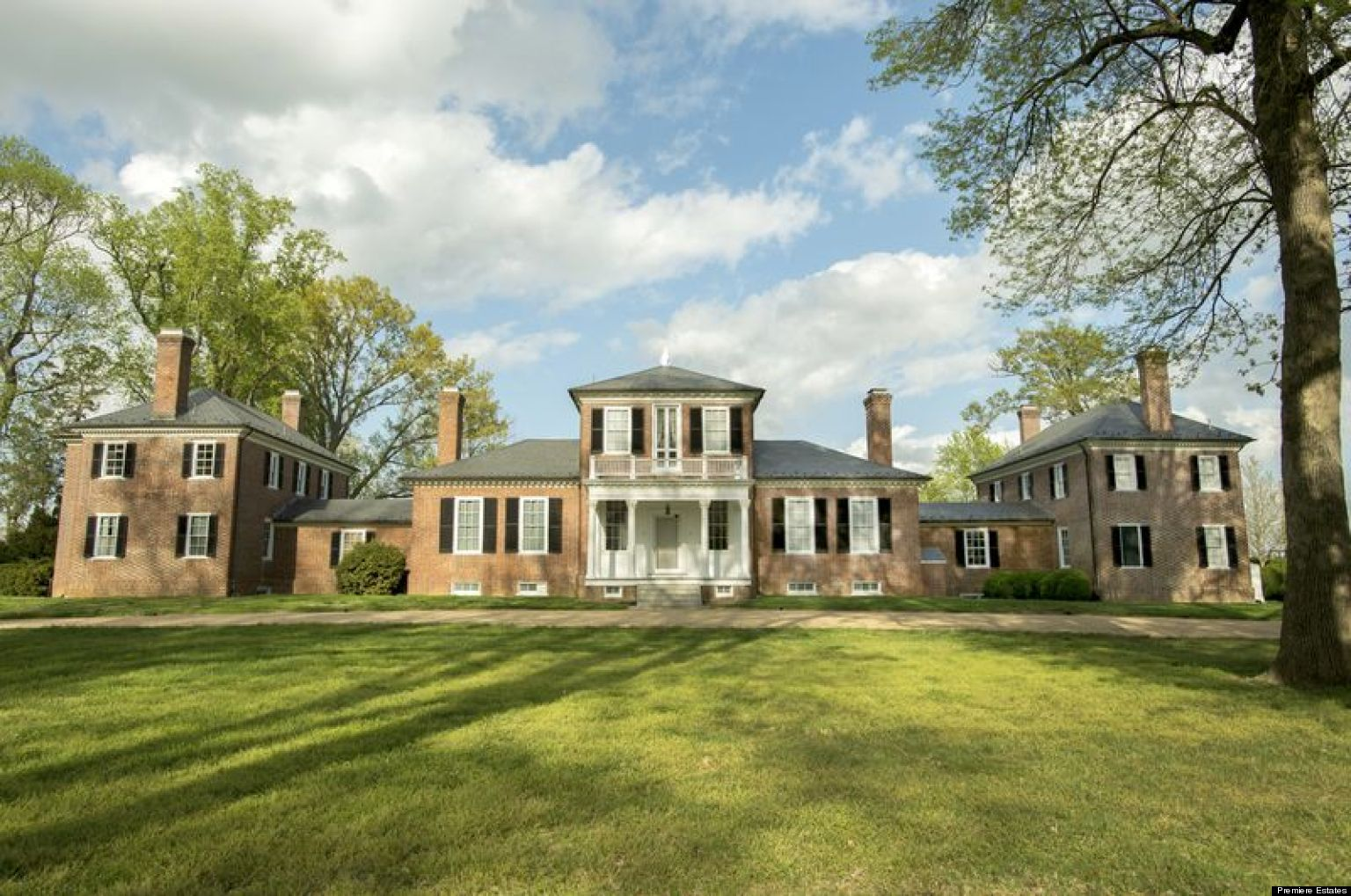 Brandon Plantation For Sale: Thomas Jefferson-Designed ...