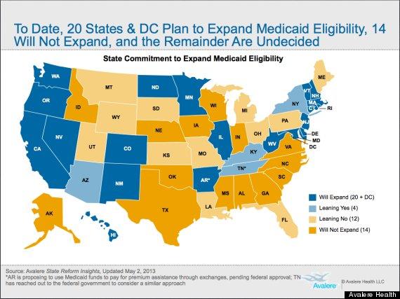 medicaid expansion uninsured