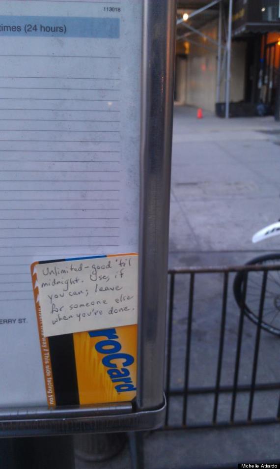 nyc metro note