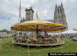 LOOK: National Cathedral Flower Mart And Tower Climb