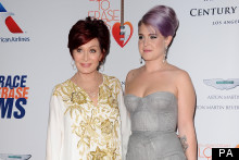 Kelly And Sharon Osbourne Share Some Mother Daughter Time At Star-Studded Charity Gala