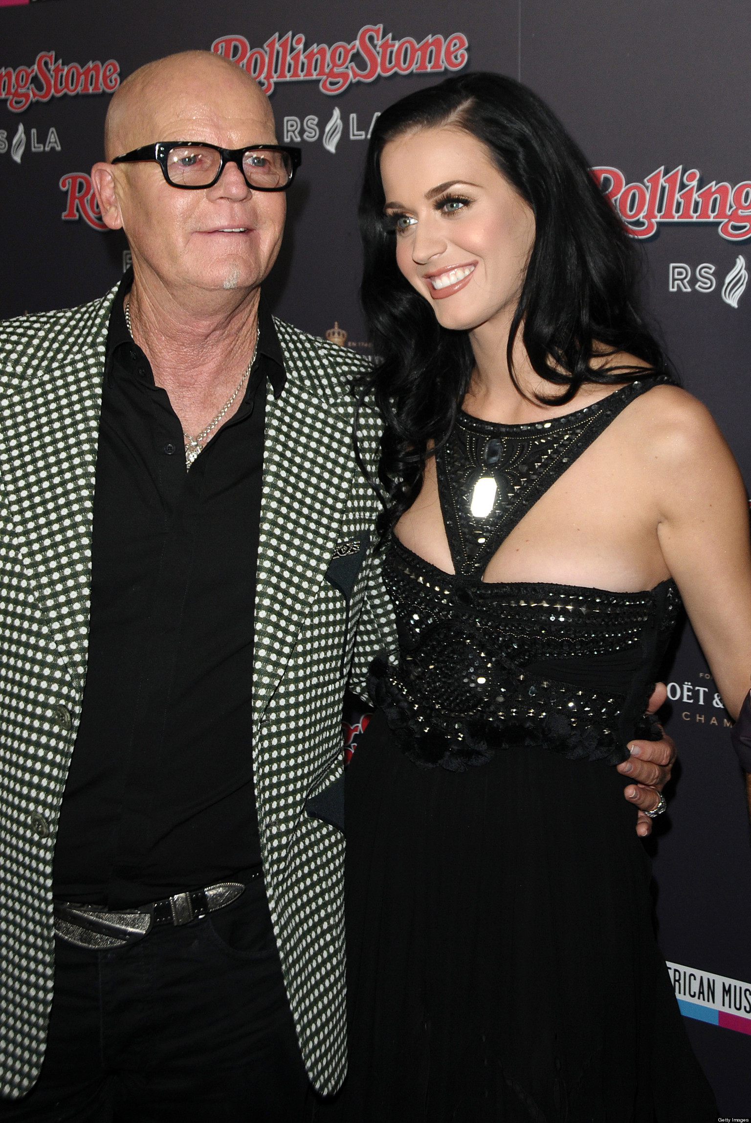 Photo of Katy Perry & her Father  Maurice Keith Hudson