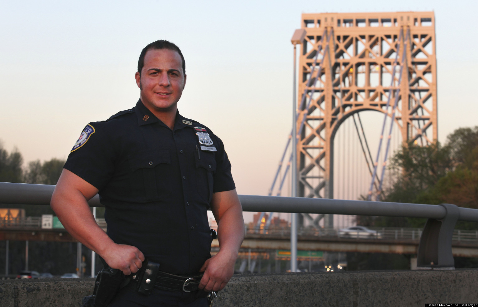 LOOK: 'Superhero' Cop Has Prevented 5 Attempted Suicides From The GW Bridge In 2013