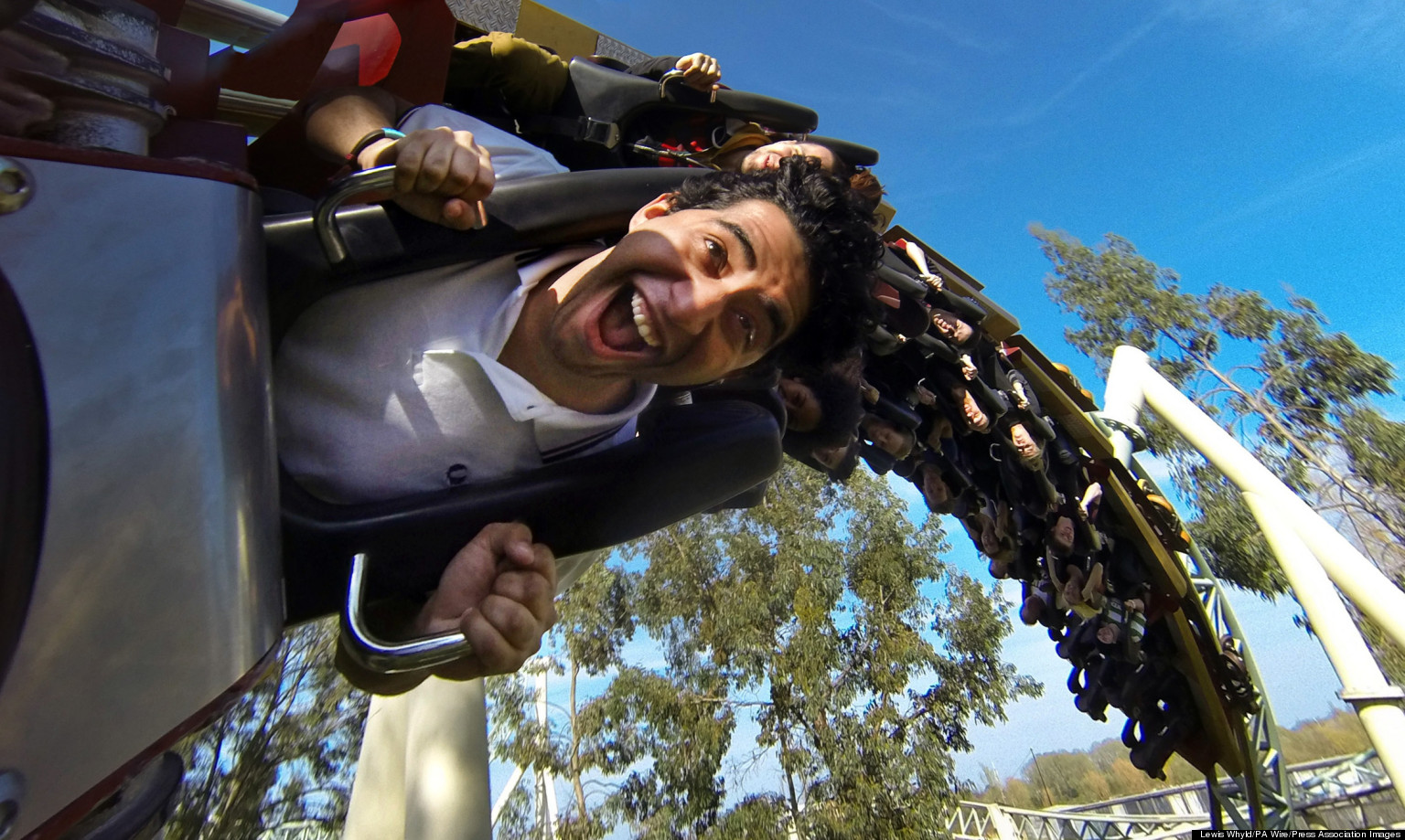 For roller coaster lovers, the big apple coaster has to be on your las vegas bucket list