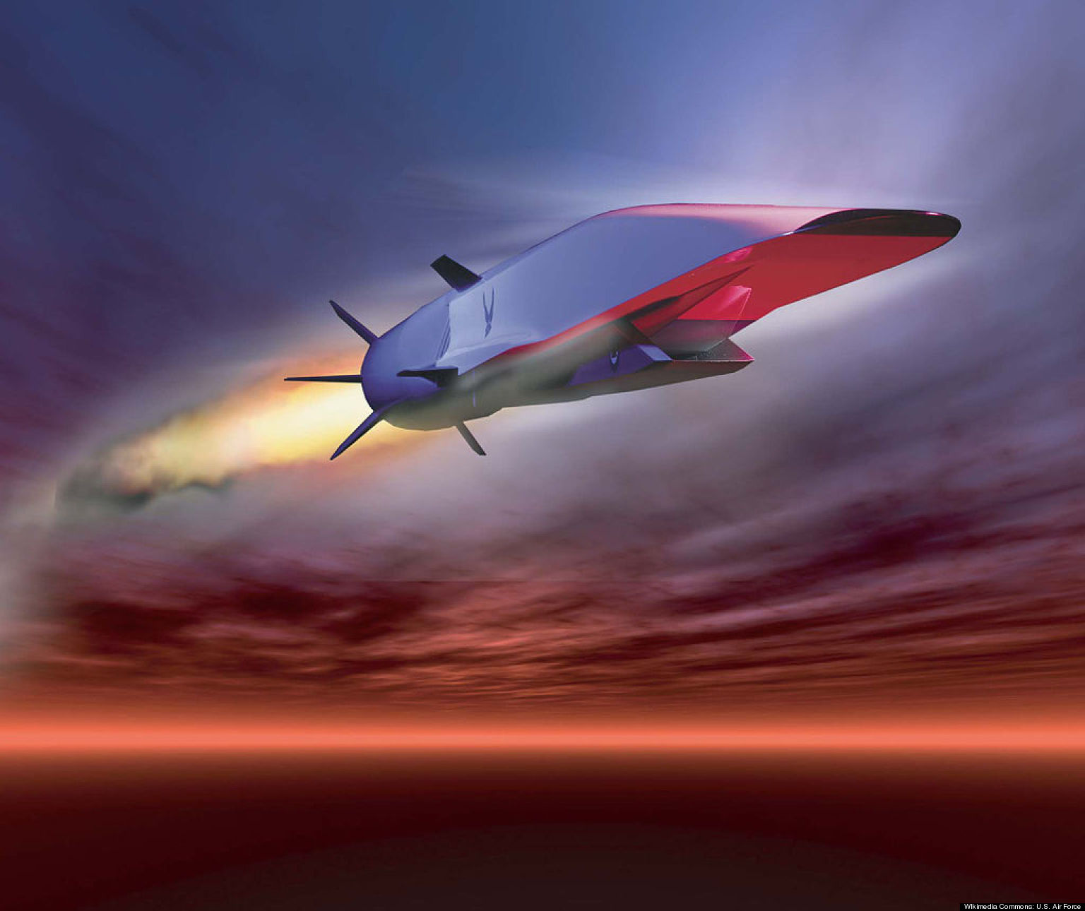 Scramjet Sets Record Before Plunging Into Ocean