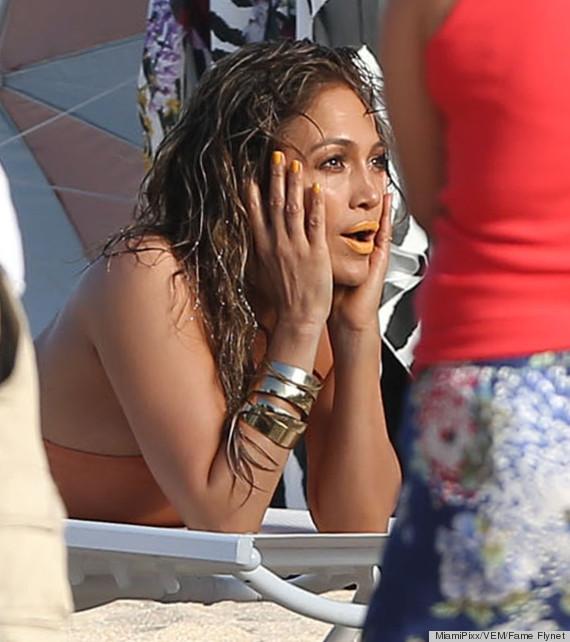 Jennifer Lopez Makeup Has Us Feeling Orange Crushed