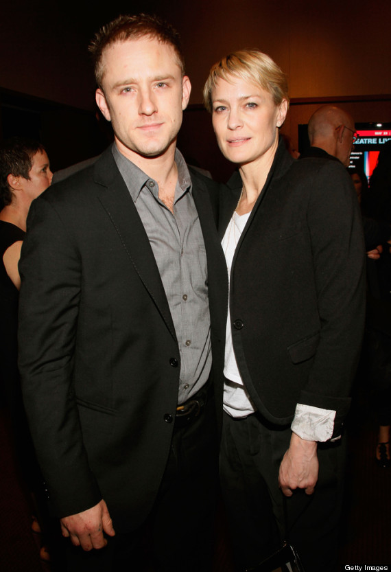 Robin Wright with Boyfriend Ben Foster
