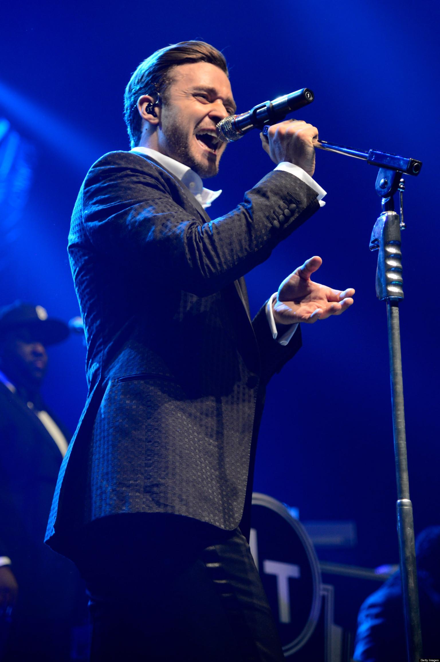 Justin Timberlake Rocks At Star-Studded New York Show