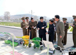 LOOK: Scary North Korean Dictator Does A Spot Of Gardening