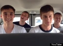 THIS Is What Happens When You Put 5 Boys In A Van... (VIDEO)