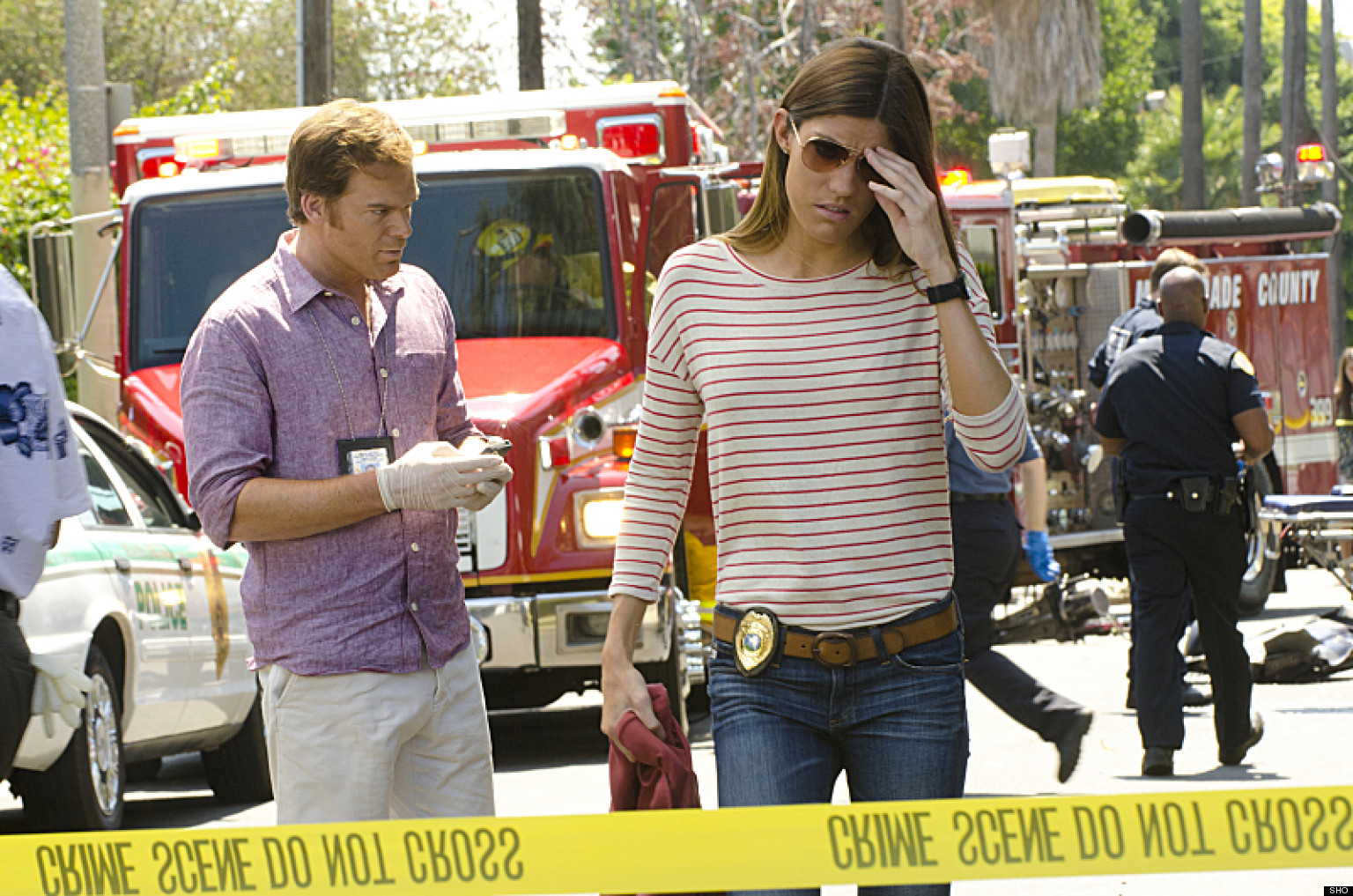 dexter season 8 preview gives glimpse of possible deb