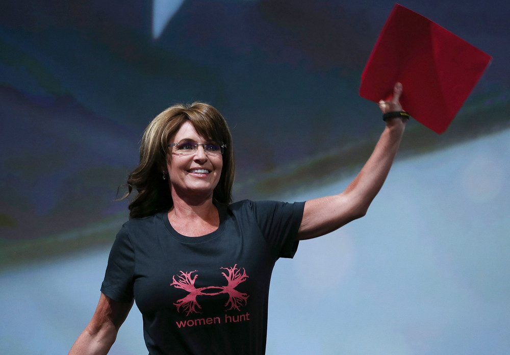 sarah palin women hunt