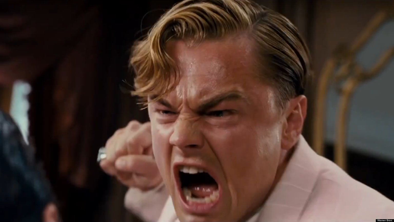 Leonardo DiCaprio Yelling: The Supercut (VIDEO)