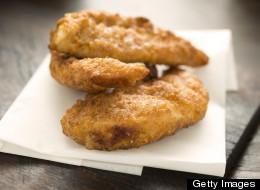 Lemony Gourmet Fried Chicken -- Skinnyfied