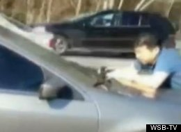 WATCH: Man's 2 Miles Ride On Car Hood To Stop Hit-And-Run Driver
