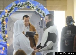 WATCH: The Most Extreme 'Star Wars' Wedding