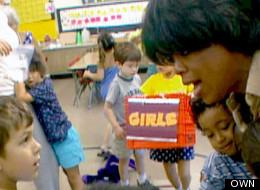 WATCH: Oprah's One-Day Career As A Kindergarten Teacher