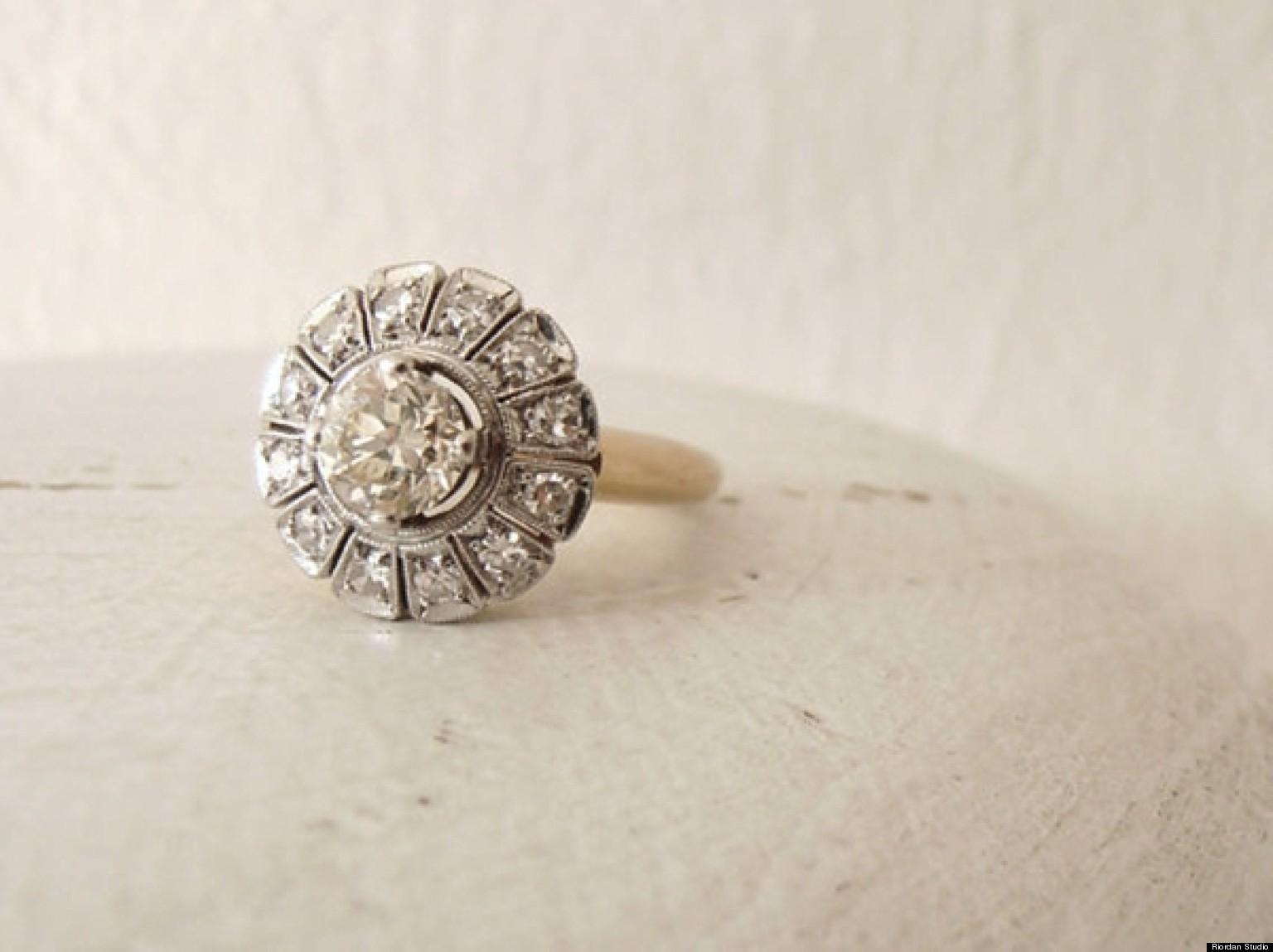 indie wedding rings cheap vintage wedding rings indie wedding rings image