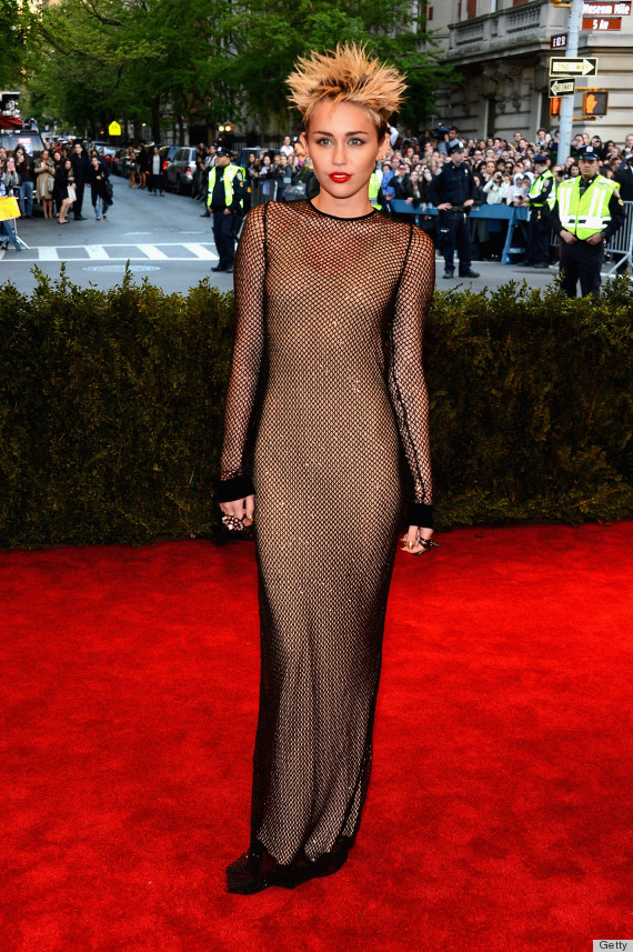 Miley Cyrus Dress Met Gala