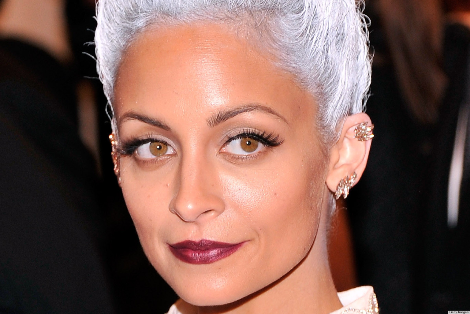 Nicole Richie's Grey Hair Is Eerily Amazing