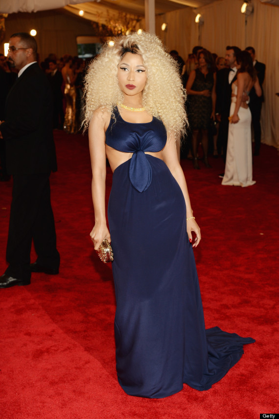 nicki minaj met gala dress