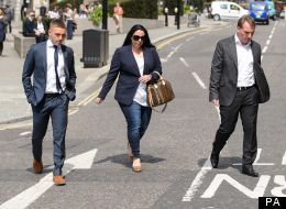 Liverpool Boss Rodgers Accompanies Son Anton At Old Bailey (PICTURES)