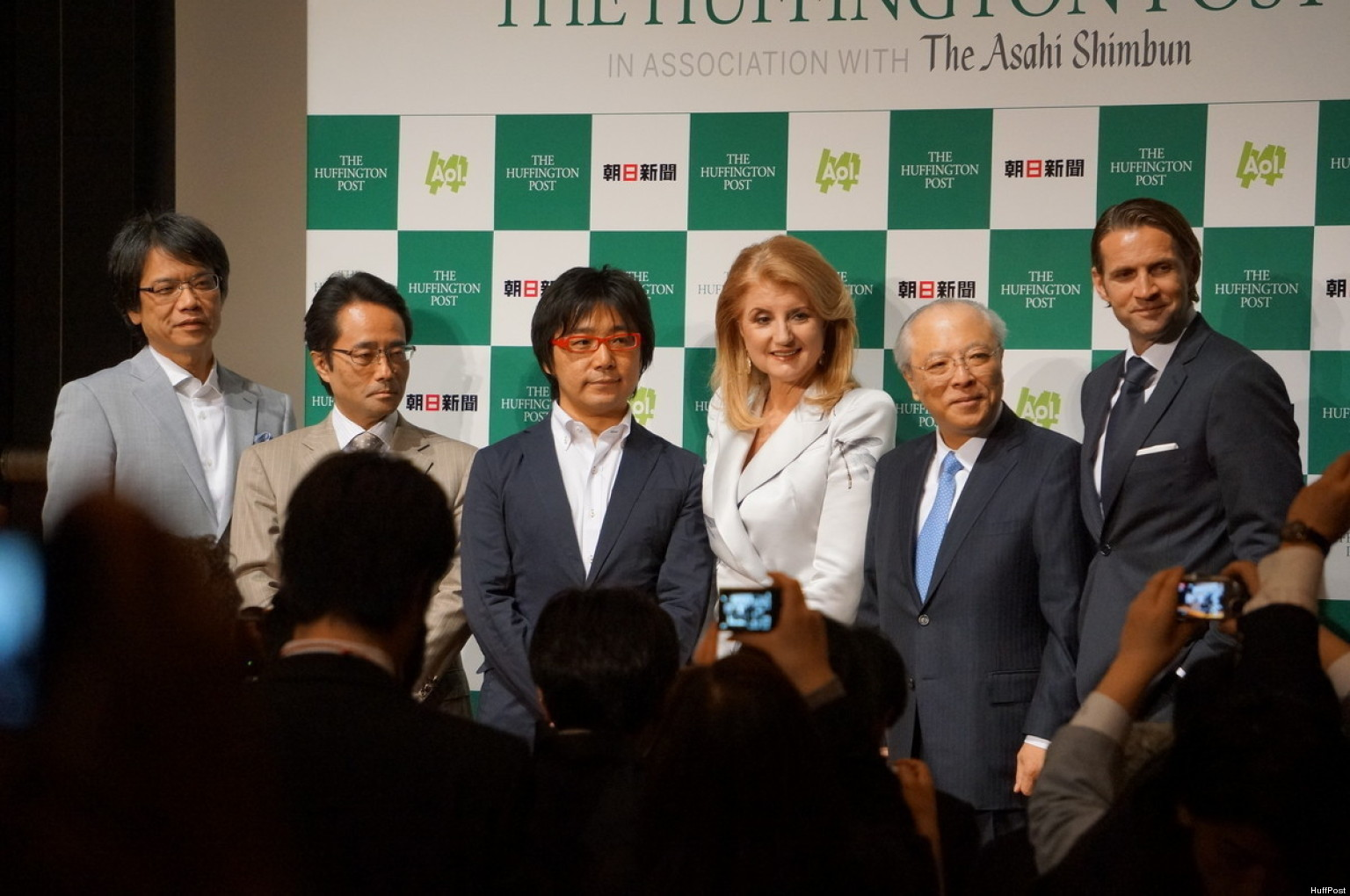 HuffPost Goes (Way) East: Introducing The Huffington Post Japan
