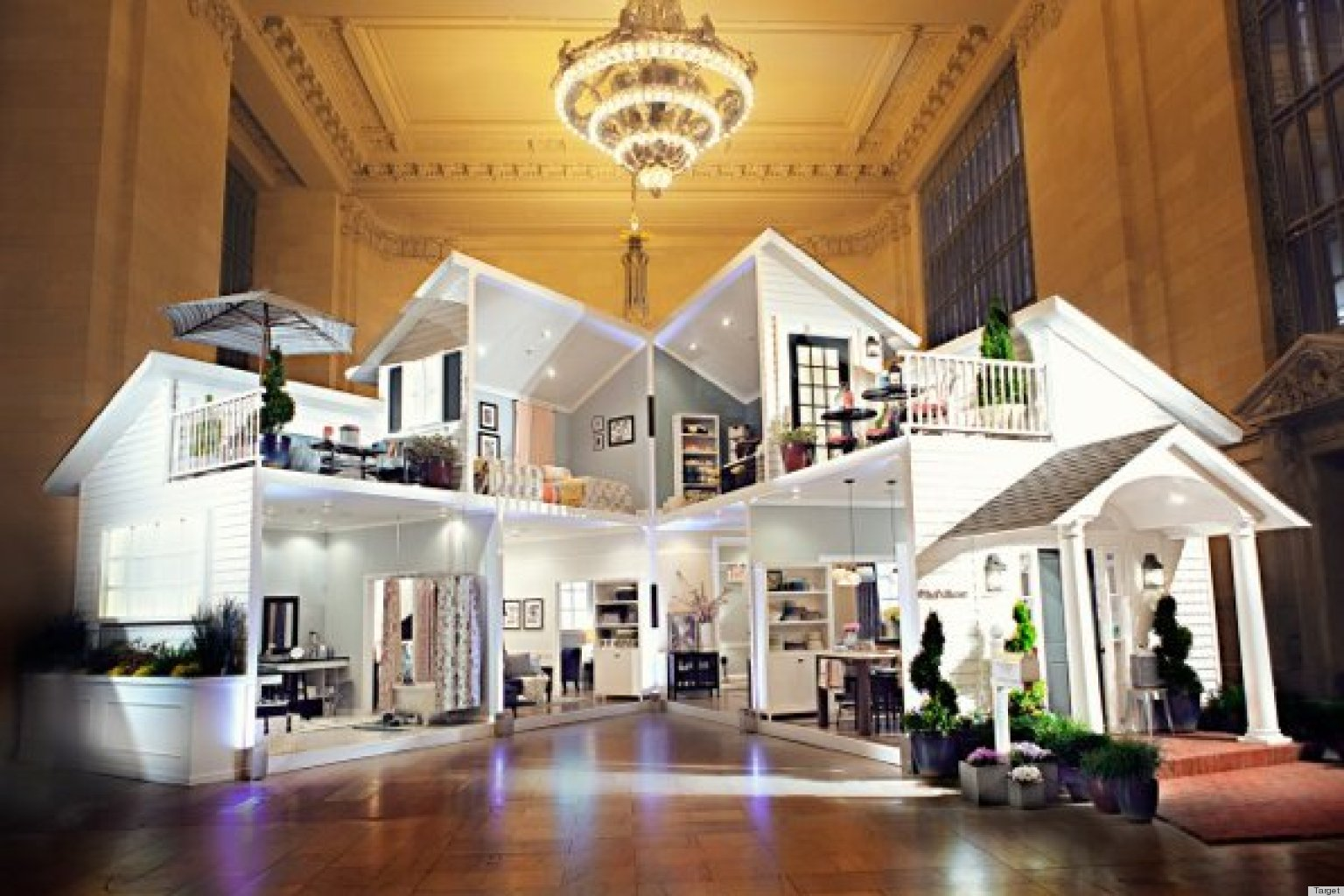 Target Dollhouse In Grand Central Is Probably Bigger Than