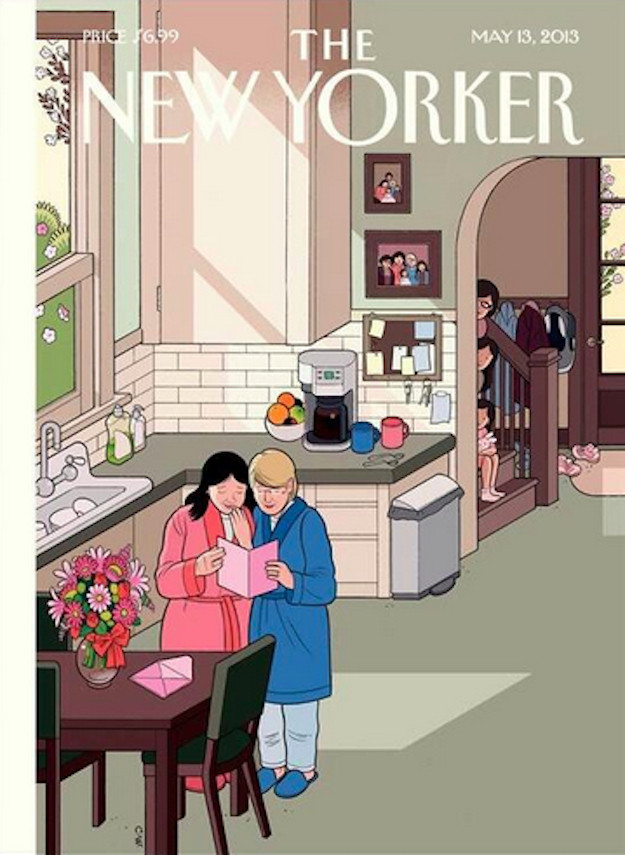 new yorker cover mothers day