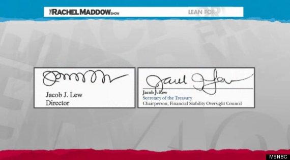 jack lews signature