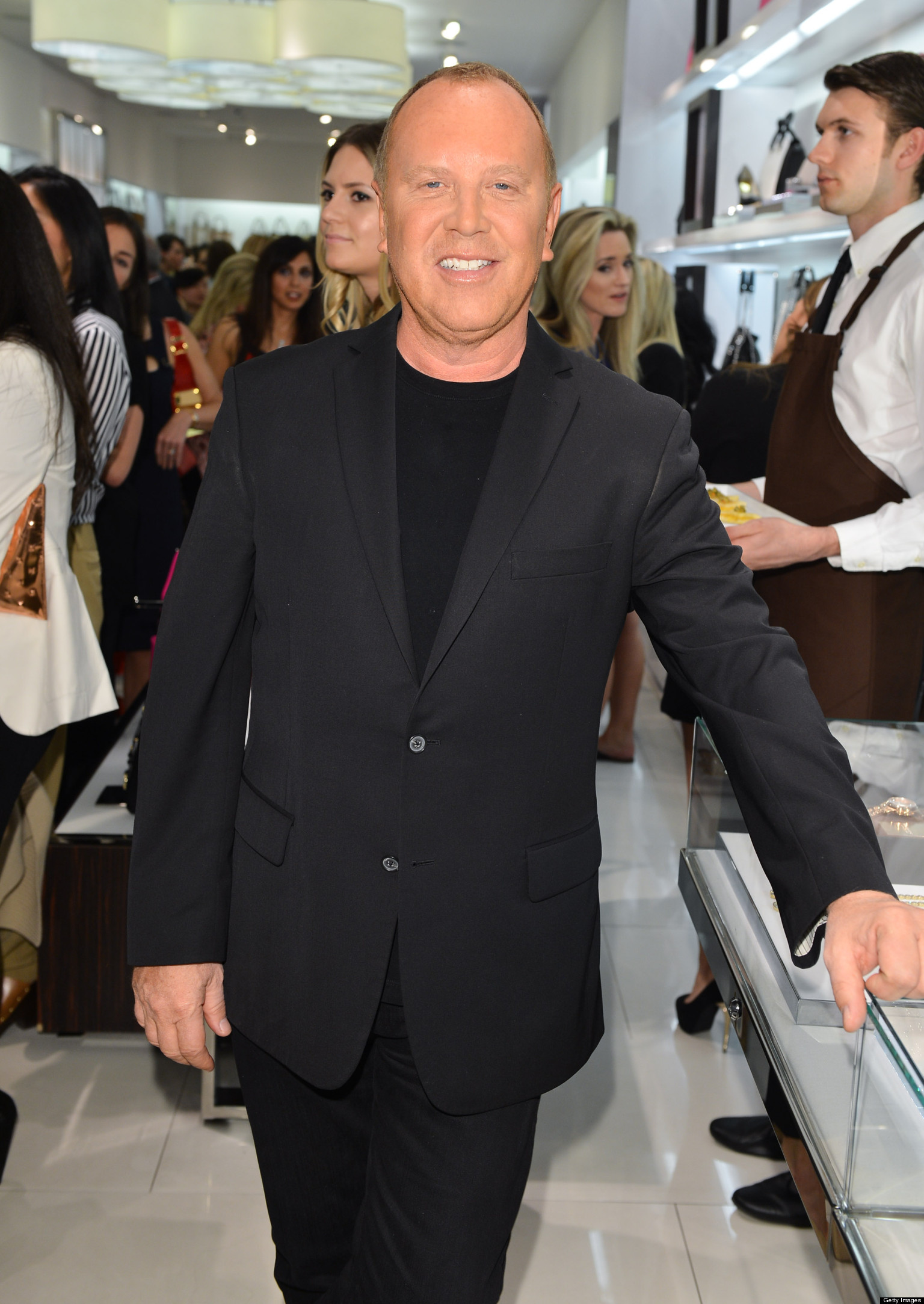 a conversation with fashion designer michael kors huffpost. Black Bedroom Furniture Sets. Home Design Ideas
