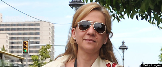 SPAIN COURT PRINCESS CRISTINA