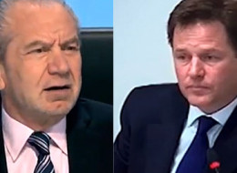 WATCH: Nick Clegg On 'The Apprentice'