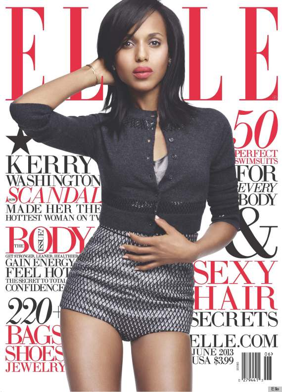 Hollywood sweetheart, Kerry Washington lands a major magazine cover (and it's so HOT!)