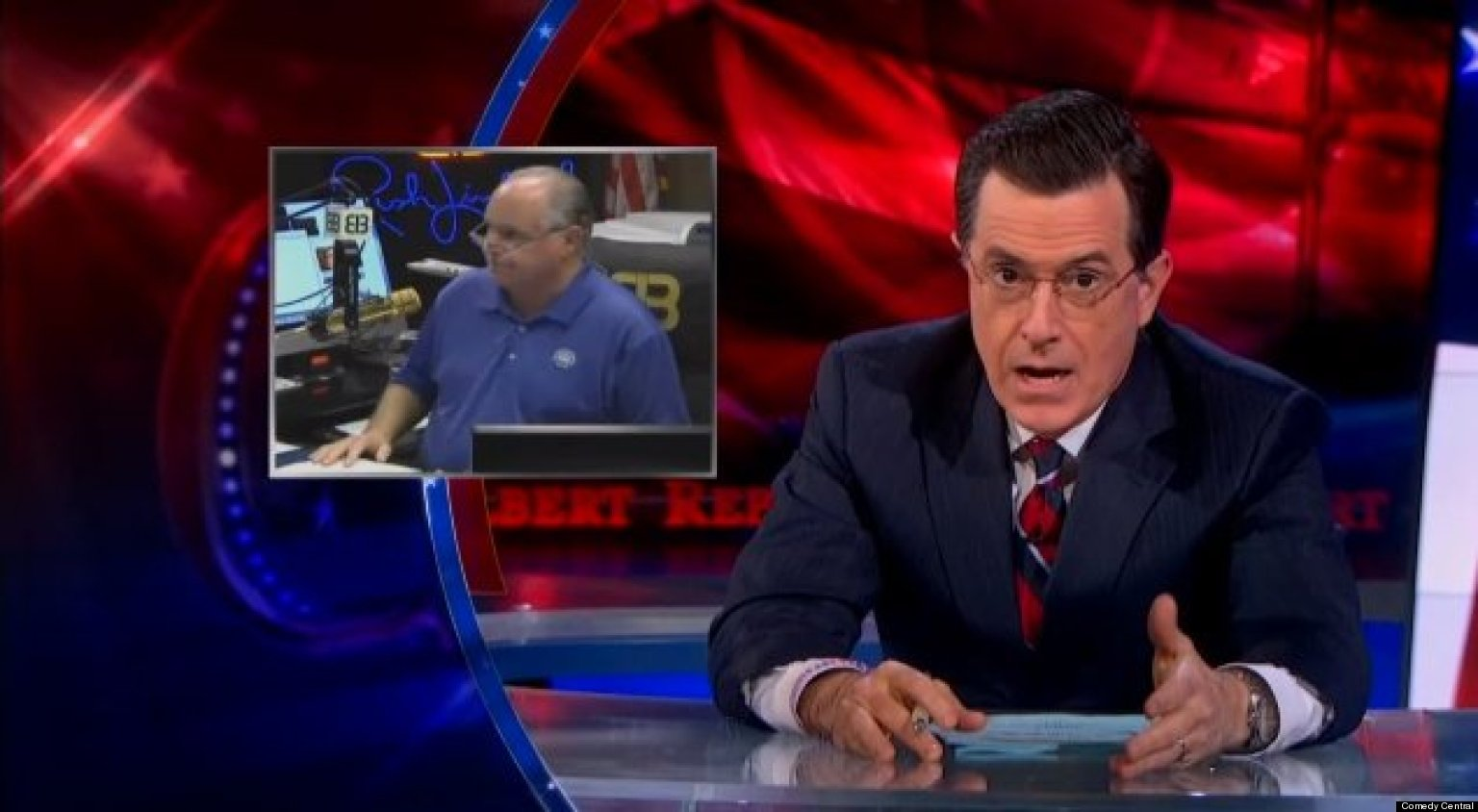 WATCH: Colbert Mocks Right Over Nutty Conspiracy Theory
