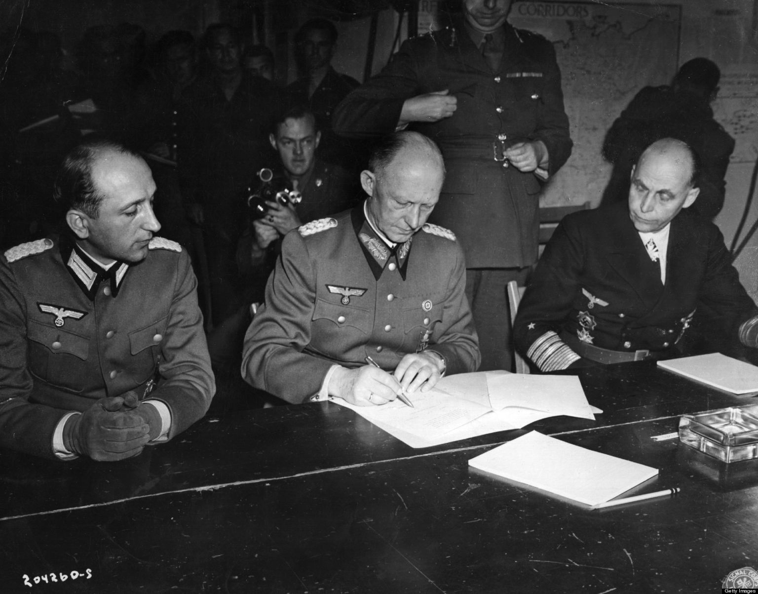 what date did germany surrender in ww Start studying history ww2 (teacher's guide)  why did japan, germany,  britain and the us got italy to surrender and then invade the beaches at normandy, .