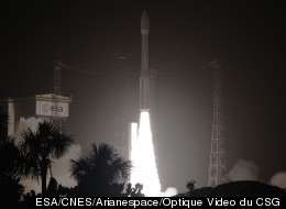 WATCH: ESA Rocket Blasts Off