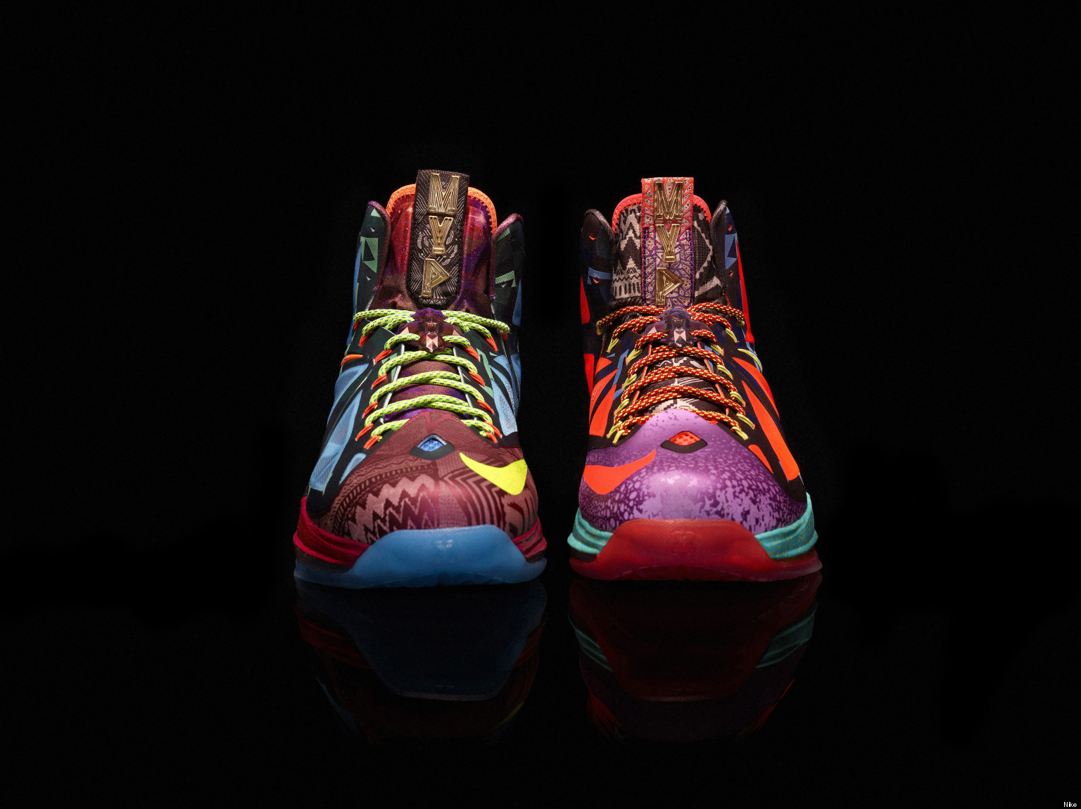 Nike Releases 'LeBron X MVP' Shoe As Star Finishes Epic ... Lebron 10 Mvp Shoes