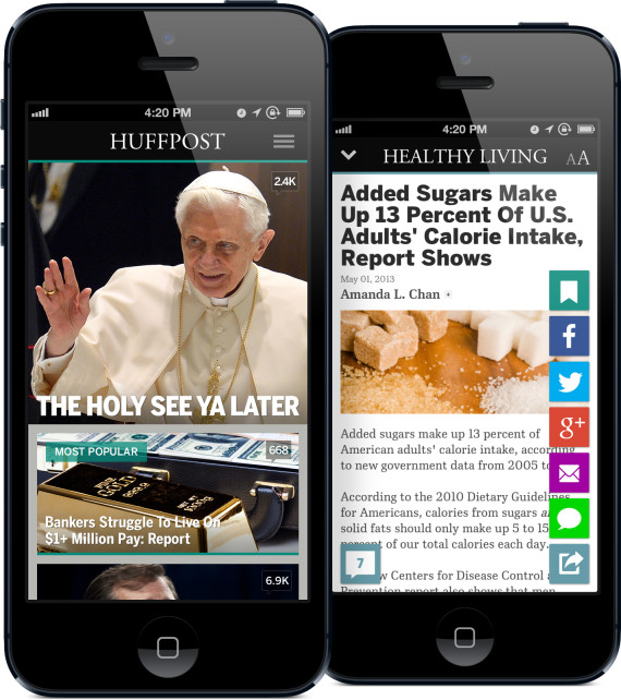 The Huffington Post For IPhone & IPad
