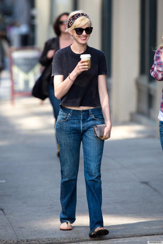 Anne Hathaway Blonde Hair Is Still Happening -- What Do